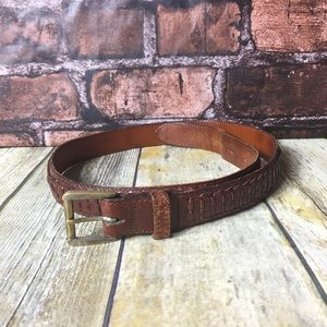 Cole Haan Brown Leather Belt